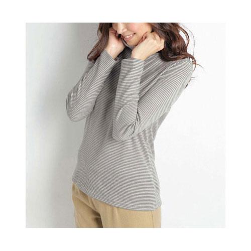 cecile發熱系列--Smart Heat毛感柔軟舒適高領上衣 (2)