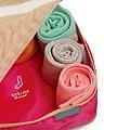 《Hellolulu設計款》旅行用衣物收納包‧一件組