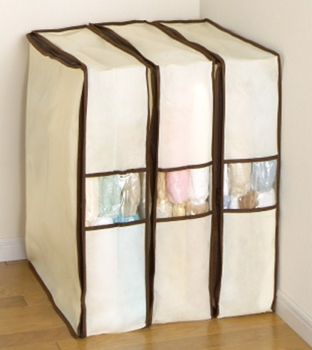 《空間魔術師》壓縮式衣物收納袋‧三件一組 (2)
