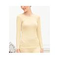 cecile居家配件-RIPPLE波浪空氣層高伸縮性輕盈保暖衛生衣 (2)