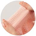 cecile居家配件-RIPPLE波浪空氣層高伸縮性輕盈超保暖腹圍 (2)