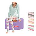 cecile居家配件-日本製三段加壓加強保濕纖腿晚安魔法襪