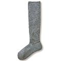 cecile居家配件-日本製高伸縮性不緊繃混羊毛足底加厚小腿襪
