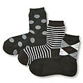cecile居家配件-日本製混羊毛不滑落直角襪 (2)