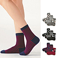 cecile居家配件-日本製混羊毛不滑落直角襪 (3)