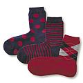 cecile居家配件-日本製混羊毛不滑落直角襪 (4)