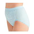 cecile居家配件-日本製溫柔觸感消臭加工混棉生理褲 (2)