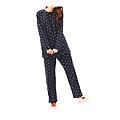 cecile居家配件-日本熱賣多色活潑刷毛溫暖家居服 (2)
