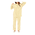 cecile居家配件-日本熱賣多色活潑刷毛溫暖家居服