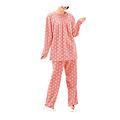 cecile居家配件-日本熱賣多色活潑刷毛溫暖家居服 (3)