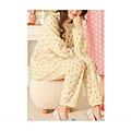cecile居家配件-日本熱賣多色活潑刷毛溫暖家居服 (4)
