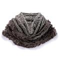 cecile居家配件-名媛時尚造型溫暖兔毛編織披肩 (2)
