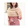 cecile居家配件-名媛時尚造型溫暖兔毛編織披肩 (3)