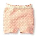 cecile居家配件-高伸縮性圓點毛料保暖褲