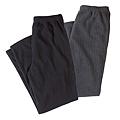 cecile居家配件-高品質實穿舒適保暖口袋長褲2件組