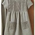 cecile親子裝系列-內刷毛長版針織上衣 (2)