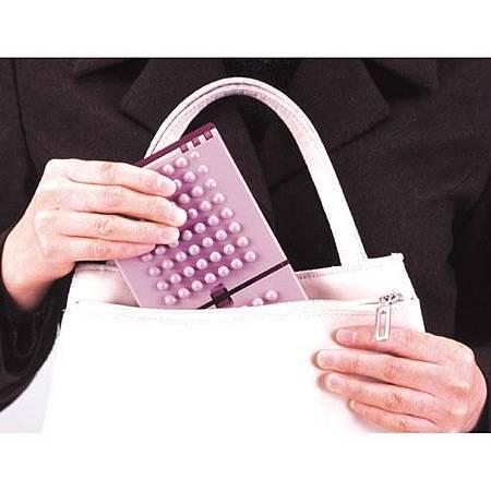 《可攜式》折疊足底健康按摩架 (2)