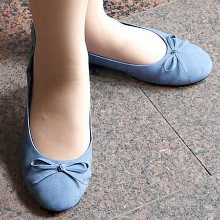 《舒適柔軟》經典造型可攜式娃娃鞋 (2)