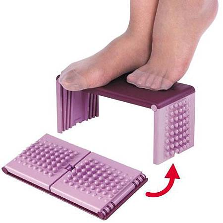 《可攜式》折疊足底健康按摩架1