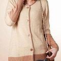 設計舒適質感針織外套 (2)