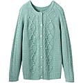 麻花編織外套