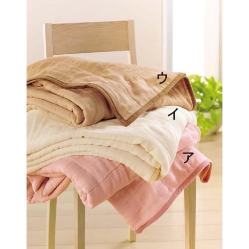 《三井毛織》三層構造柔軟綿被1