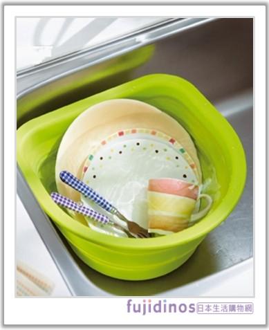 伸縮式矽膠收納盆‧洗碗盆001.jpg
