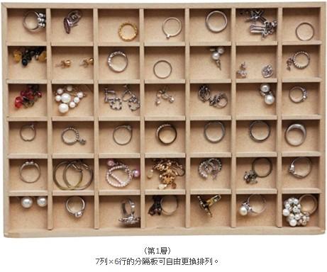 《功能收納》極簡風大容量飾品紙張收納盒 002.jpg