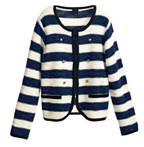 《RIKACO'S 》混金蔥條紋針織外套.jpg