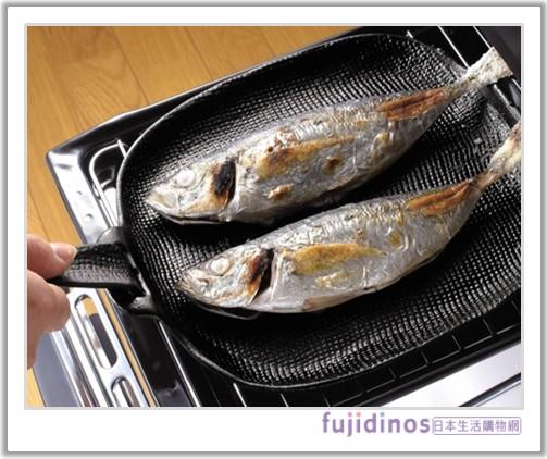《及源鑄造》鑄鐵平底燒烤盤‧烤魚盤.jpg