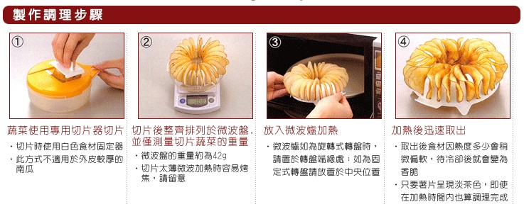 《無油無負擔》DIY洋芋片&烤麻糬‧微波調理組_調理例.jpg