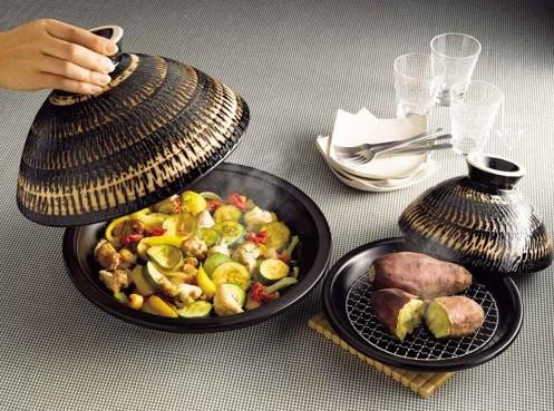 《長谷園伊賀燒》健康陶瓷摩洛哥土鍋(小)22cm 001.jpg