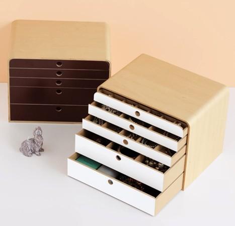《功能收納》極簡風大容量飾品紙張收納盒 001.jpg