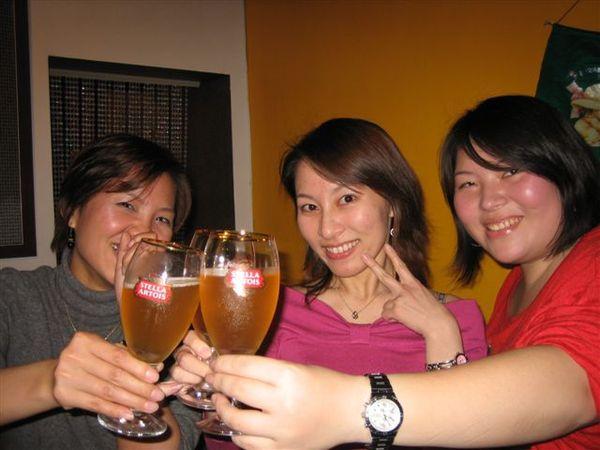 祝壽星生日快樂乾一杯