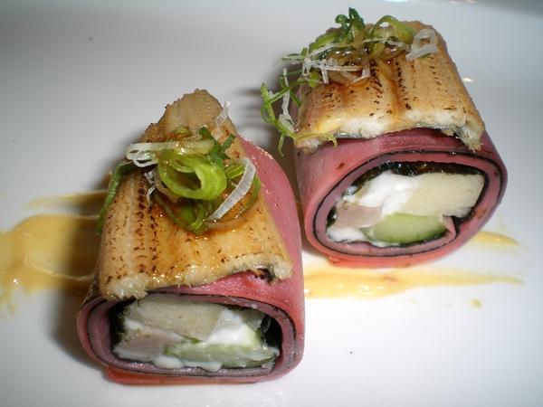 楓套餐-鰻魚蘋果捲