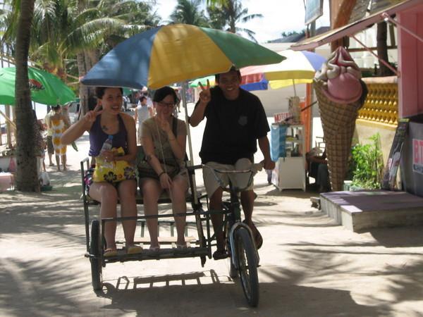 沙灘三輪車