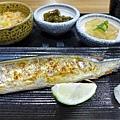 烤秋刀魚定食