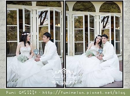創意立牌應用-婚紗照拍攝道具