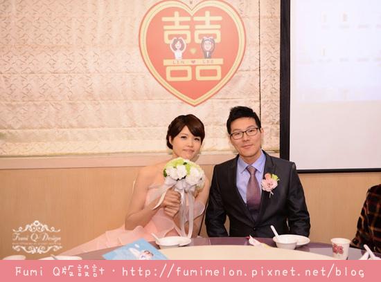 Lee & Lin 婚禮佈置