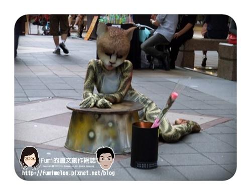 街頭藝人之舞動青春