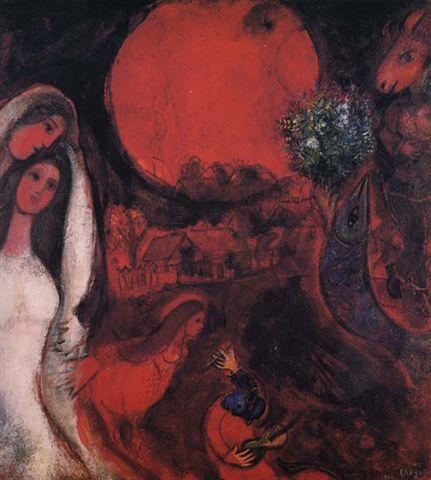 chagall_1950太陽深沉的村落.bmp