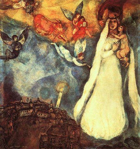 chagall_村莊的聖母.jpg