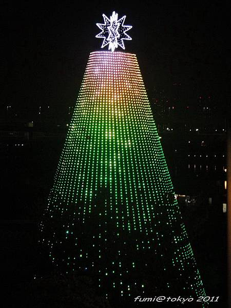 台場AQUA CITY聖誕燈飾