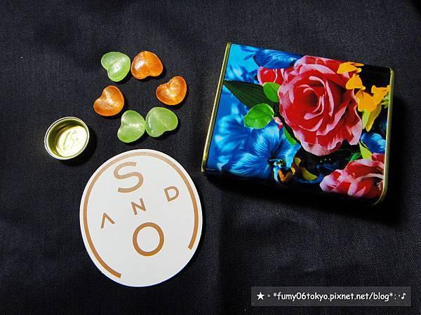 S AND O,蜷川實花×佐久間製菓鐵罐糖