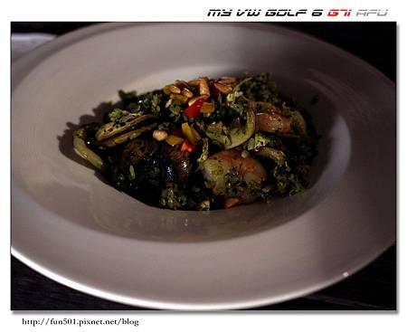 青醬海鮮炒飯