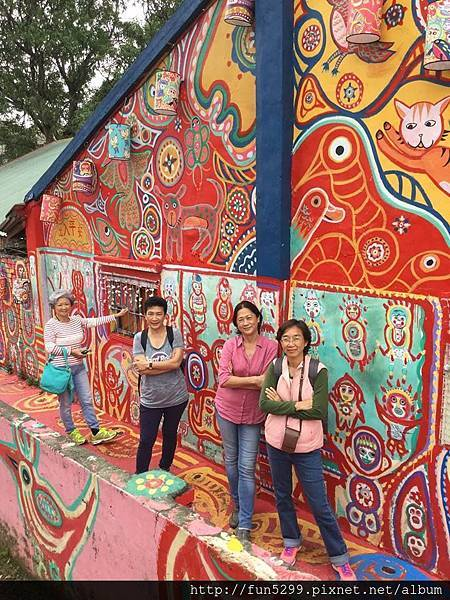 馬來西亞 吉隆坡 盧、陳、李、符、四位女士~在彩虹村!