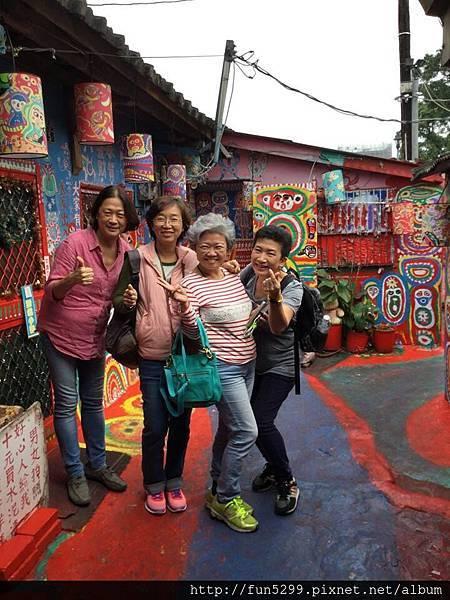 馬來西亞 吉隆坡 盧、陳、李、符、四位女士~在彩虹村