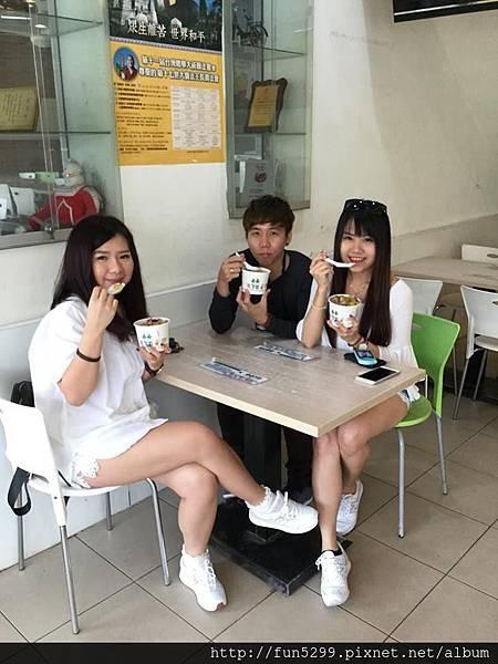 馬來西亞-怡保 唐小姐、陳小姐、覃先生~在東東芋園。