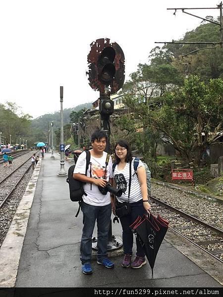 香港 張先生、林小姐夫婦,在勝興車站