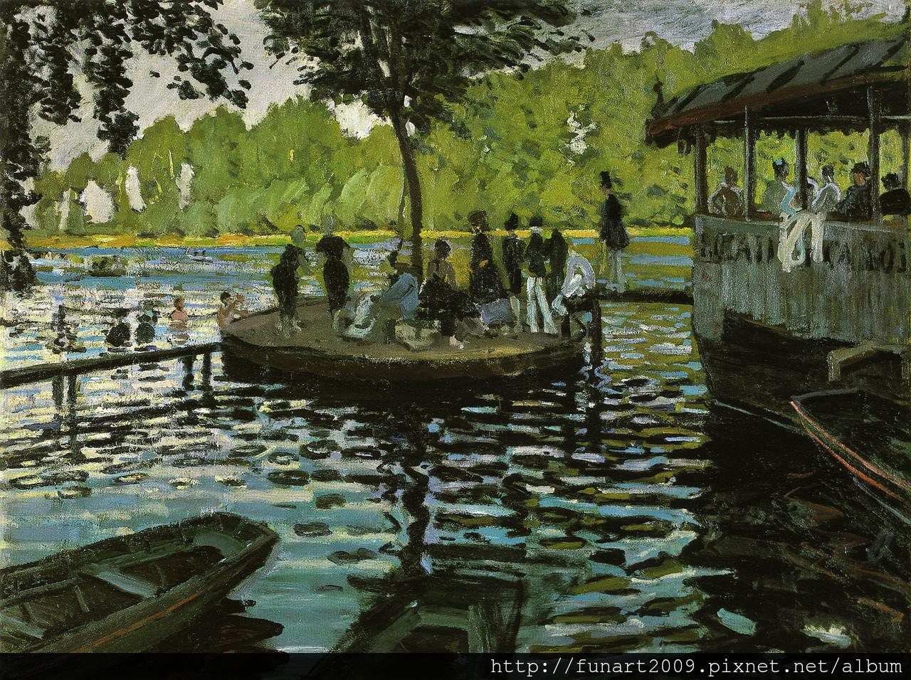 1869-蛙塘 油彩‧畫布,75 x 100 公分